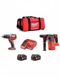 Milwaukee Kit 18V MWK182AP2...