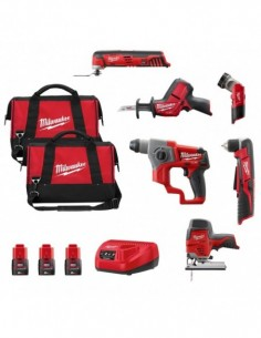 Milwaukee Kit 12V MWK126BD3...