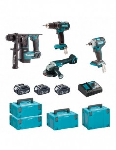 MAKITA Kit MSM4M3BL3B...