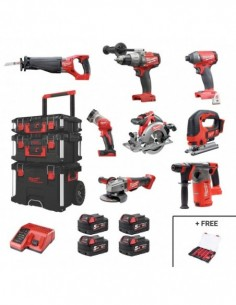 Milwaukee Kit M18FPP8CB4P...